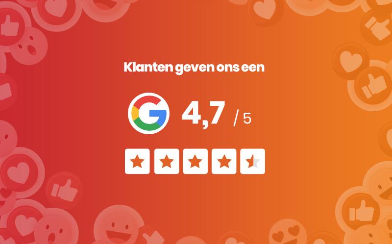 De onafhankelijke reviews over onze schade-expertise lezen? Dat kan op onze Google-bedrijfspagina!
