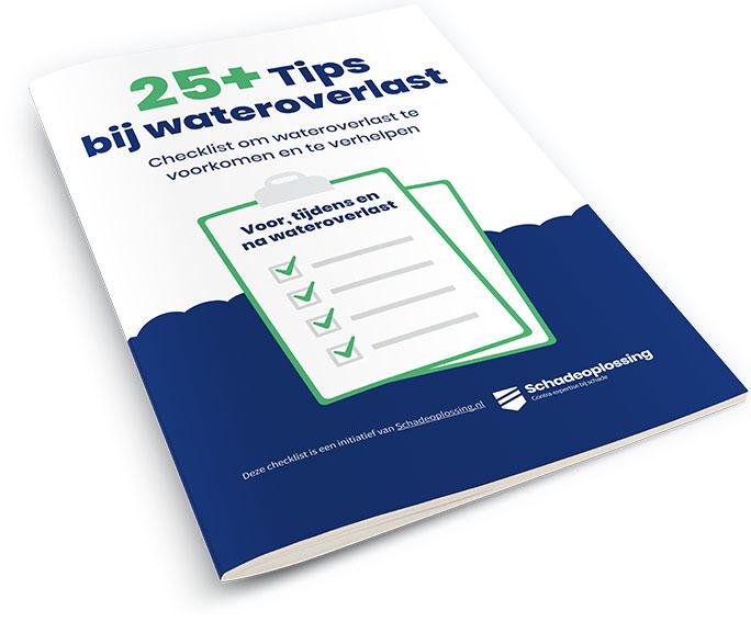 Tips bij wateroverlast checklist